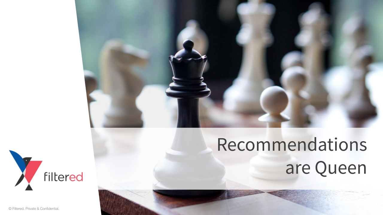Recommendations are Queen