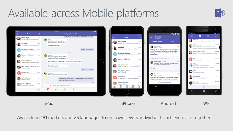 3 - Microsoft Teams Platforms