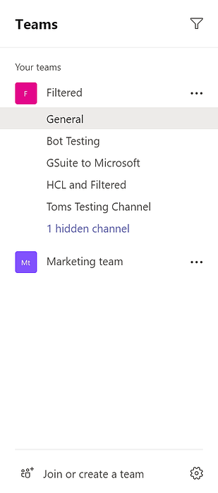 4 - Microsoft Teams teams