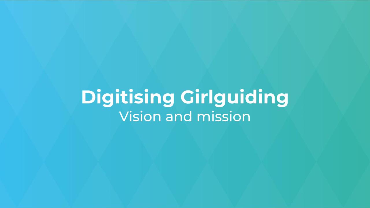 Digitising Girlguiding